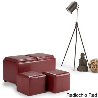 Red Ottomans Amp Storage Ottomans Shop The Best Deals For