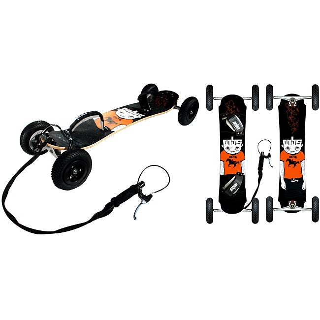 Colt 95X Mountainboard with F1 Bindings and Installed V Brake System