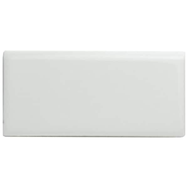 Shop Somertile 1 75x3 75 Inch Victorian Glossy White