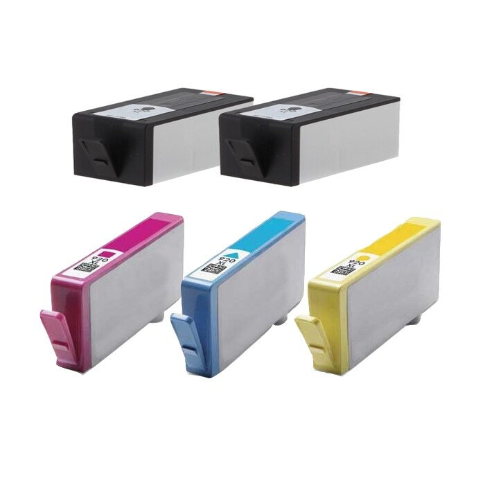 Hewlett Packard HP 920XL Black /Color ink Cartridges (Pack of 5) (Refurbished)