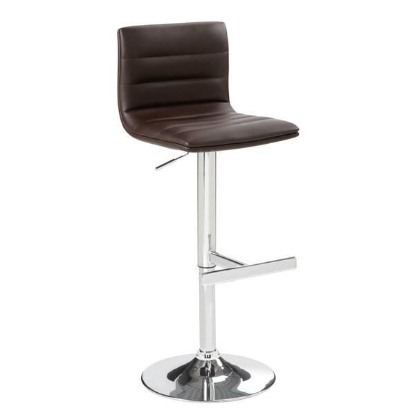 Sunpan Imports Motivo Brown Adjustable Barstool