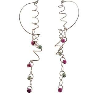 Flowing Spiral Earrings|https://ak1.ostkcdn.com/images/products/6727902/P14275389.jpg?impolicy=medium