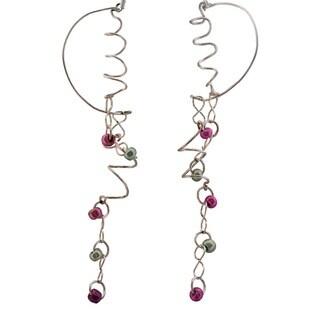 Flowing Spiral Earrings