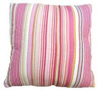 Patty Pink Striped Decrotive Pillow