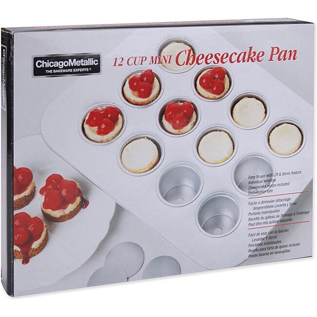 Mini Cheesecake Pan 12 Cavity