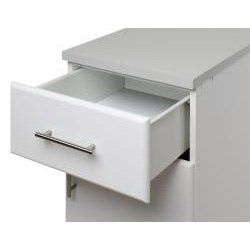 Prepac 'Winslow Elite' White Worktop Standing Cabinet