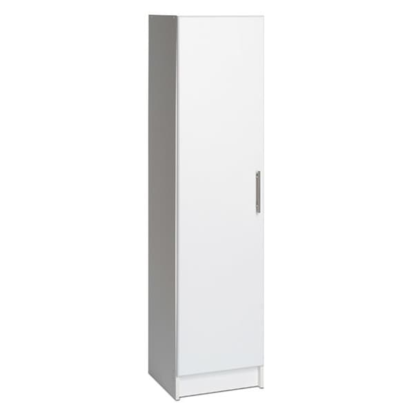 Prepac Elite 16 Inch Narrow Cabinet In White   Free Shipping Today    Overstock.com   14275575