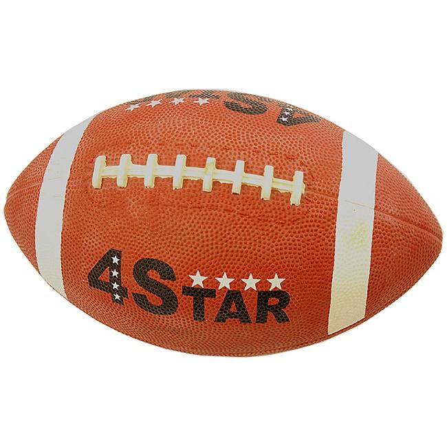 Defender Brown Mini Indoor/Outdoor Synthetic-rubber Football