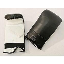 Defender White/ Black X-Large MMA Style Punching Gloves