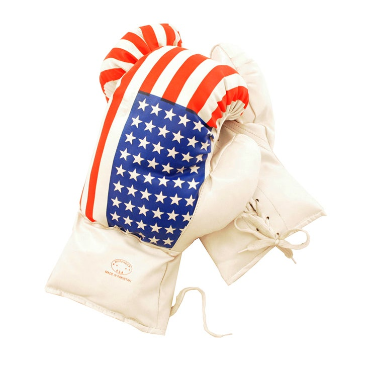 Defender USA 18-ounce Boxing Gloves (USA Boxing Gloves 18...