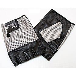 Defender Silver Medium Leather Fingerless Gloves|https://ak1.ostkcdn.com/images/products/6728325/Defender-Silver-Medium-Leather-Fingerless-Gloves-P14275713.jpg?impolicy=medium