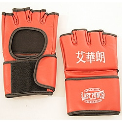 Defender Large Red MMA Training UFC Style Gloves