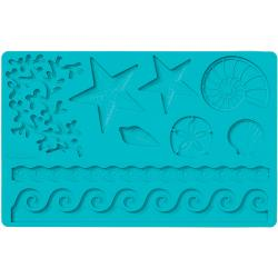 'Sea Life' Fondant And Gum Paste Silicone Mold