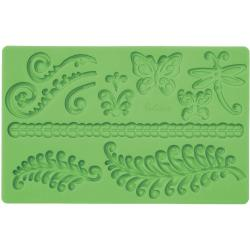 'Fern' Fondant And Gum Paste Silicone Mold