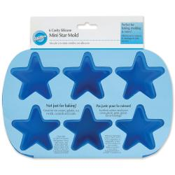 Mini Silicone Mold-6 Cavity Star
