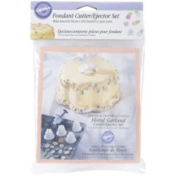 Fondant Cutter/Ejector Set-6 Pieces