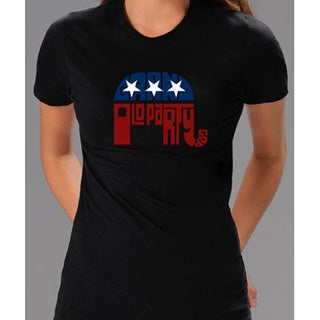 Los Angeles Pop Art Women's GOP Short Sleeve T-Shirt
