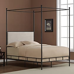 lauren full metal canopy bed free shipping today overstockcom 80004621