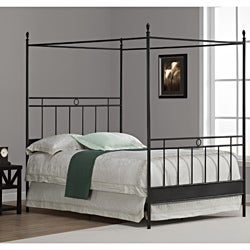 Cara Full Metal Canopy Bed