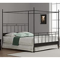 Carbon Loft Cara King Metal Canopy Bed