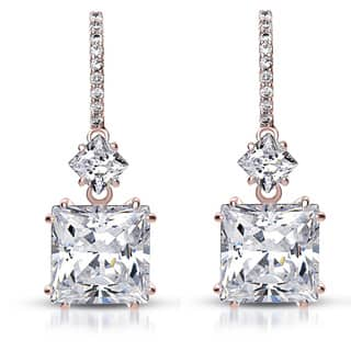 Collette Z Cubic Zirconia Square Drop Earrings|https://ak1.ostkcdn.com/images/products/6728756/P14276039.jpg?impolicy=medium
