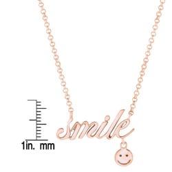 Expression Smile with Smiley Face Necklace - Thumbnail 1
