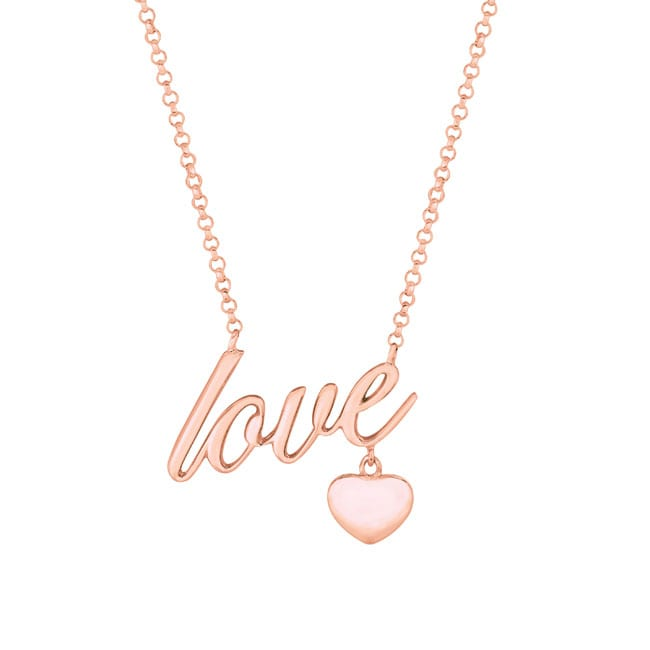 Expression Love with Heart Necklace