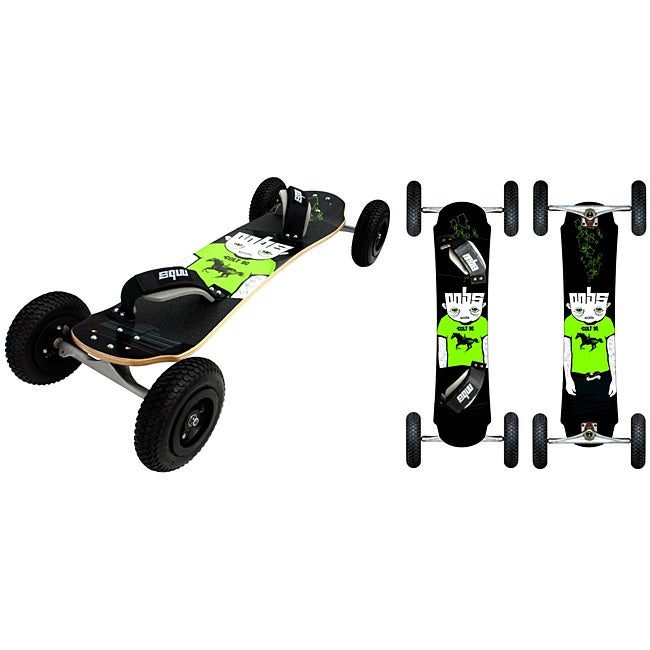 MBS Colt 90 Freestyle Mountainboard with Eight-inch Knobby Tires