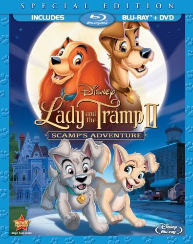 Lady and the Tramp II: Scamp's Adventure (Special Edition) (Blu-ray/DVD)