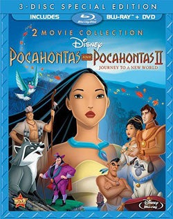 Pocahontas & Pocahontas II: Journey To A New World (Special Edition) (Blu-ray Disc)
