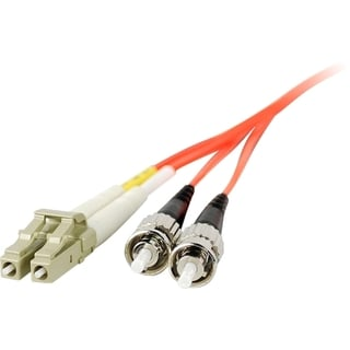 SIIG 1M Multimode 62.5/125 Duplex Fiber Patch Cable LC/ST