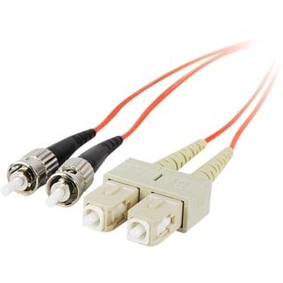 SIIG 2m Multimode 62.5/125 Duplex Fiber Patch Cable ST/SC