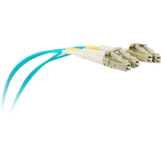 SIIG 1M 10Gb Aqua Multimode 50/125 Duplex Fiber Patch Cable LC/LC