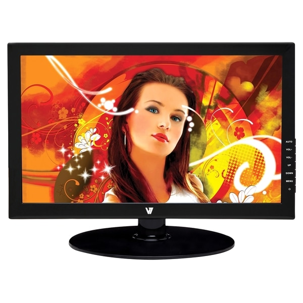 19In Widescreen LED with Speakers 1366X768 Resolution 16:9 DVI-D and