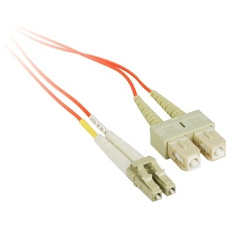 SIIG 3M Multimode 50/125 Duplex Fiber Patch Cable LC/SC
