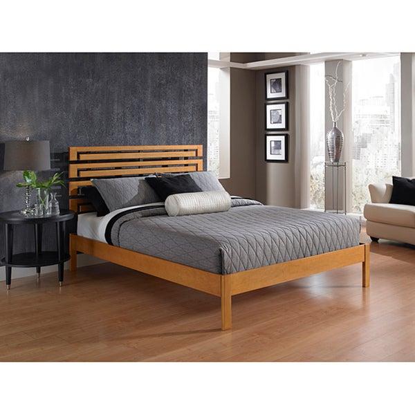 akita queen size platform bed
