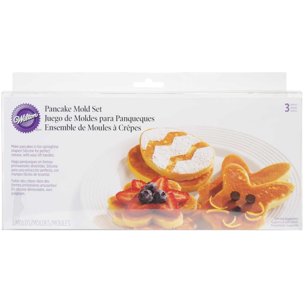 Pancake Rings 3/Pkg-Bunny