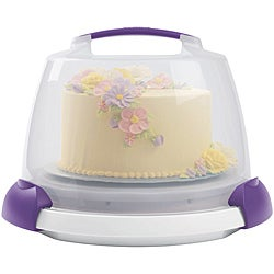 Wilton Decorate Smart Ultimate Trim-N-Turn Cake Caddy