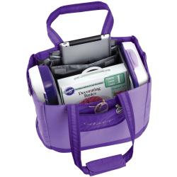 Wilton Decorator Preferred Purple Carry-all Tote Bag