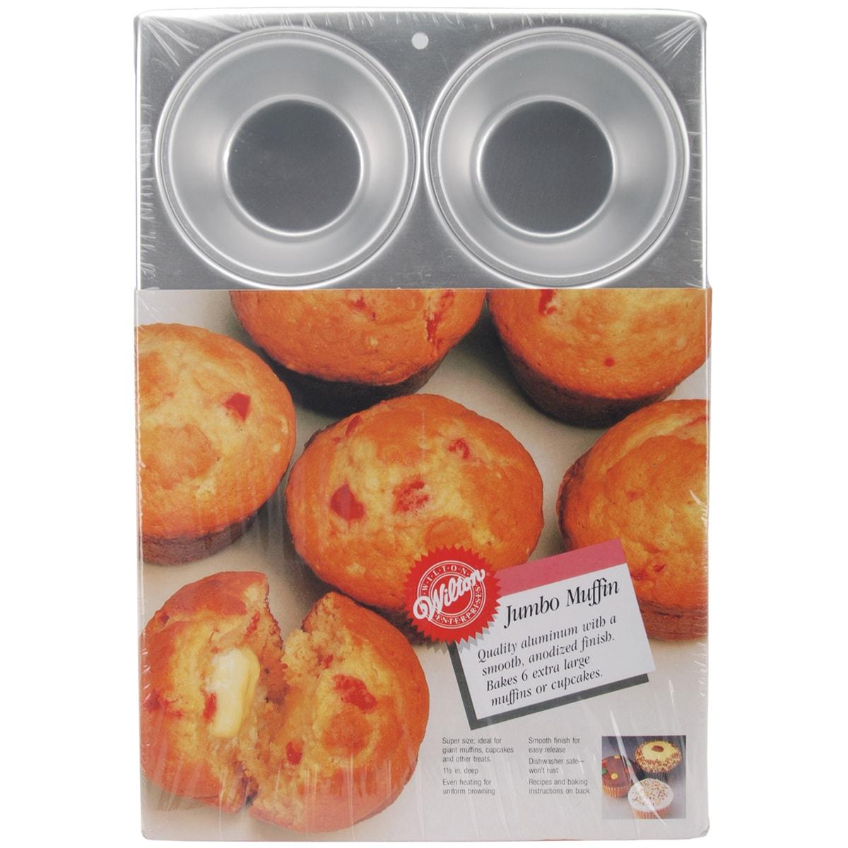 Jumbo Muffin Pan-6 Cavity