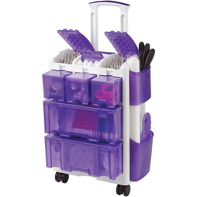 Wilton Decorate Smart Ultimate Rolling Tool Caddy Free