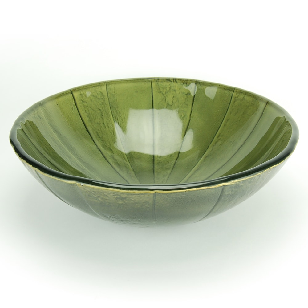 Fontaine Green Envy Glass Vessel Sink - Thumbnail 0