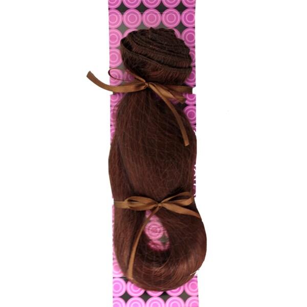 Donna Bella #4/33 (Dark Auburn Brown) 20-inch Full Head Human Remy Hair Extensions