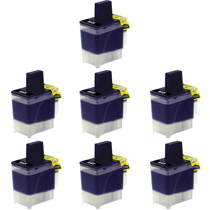 Brother LC41 Compatible Black Ink Cartridge (7 Pack)