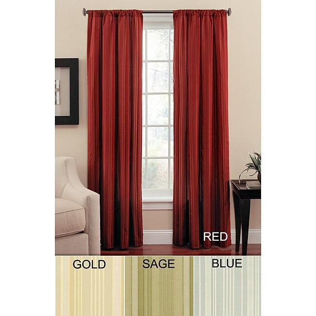 Leyton Stripe Silk-Cotton Panel