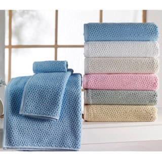 Lucia Minelli Hardwick Embossed Jacquard Turkish Cotton Bath Towel Set of 6