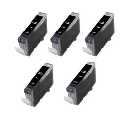 Canon CLI8-BK CLI 8 Compatible Black Ink Cartridge (Pack of 5)