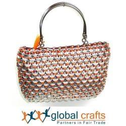 Colorful Serinita Recycled Pop Top Bag (Mexico) - Thumbnail 1
