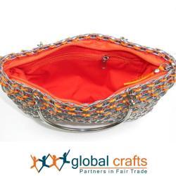 Colorful Serinita Recycled Pop Top Bag (Mexico) - Thumbnail 2