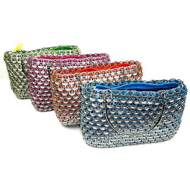 Colorful Serinita Recycled Pop Top Bag (Mexico)
